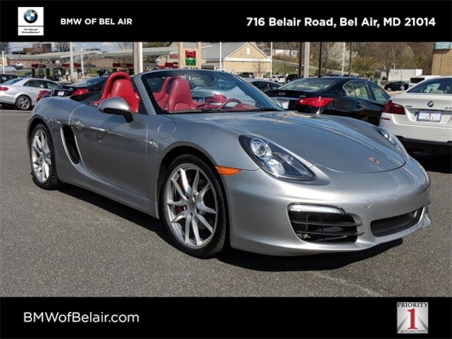 Pre-Owned 2013 Porsche Boxster For Sale at BMW of Bel Air | VIN