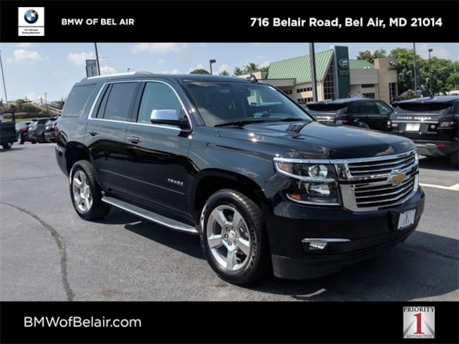 2016 Tahoe For Sale >> Pre Owned 2016 Chevrolet Tahoe For Sale At Bmw Of Bel Air Vin