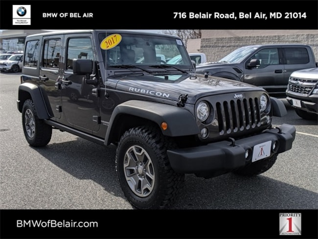 2017 Jeep Wrangler Unlimited Rubicon 4x4 Sport Utility