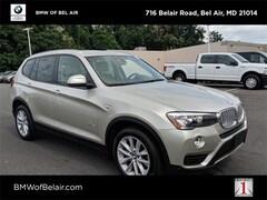 2016 BMW X3 xDrive28i SUV in [Company City]