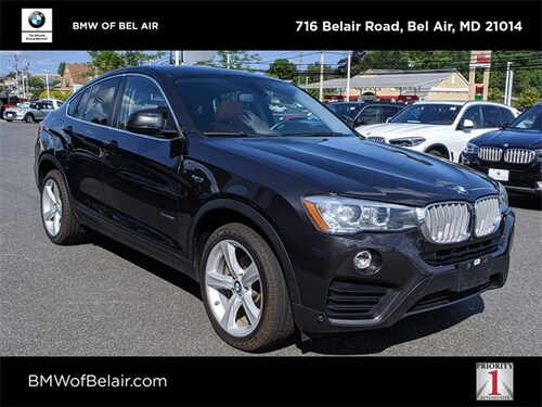 2016 BMW X4 Sports Activity Coupe
