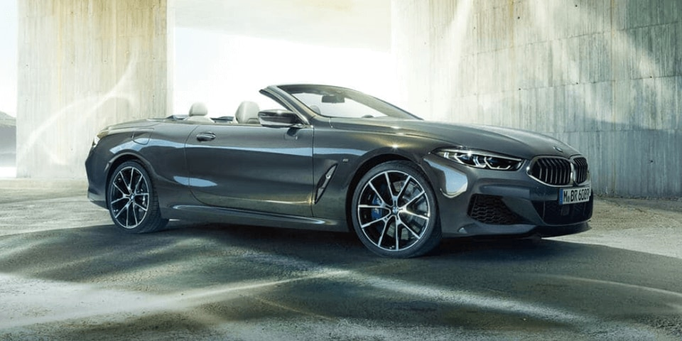 2019 BMW 8 Series front 3/4 view