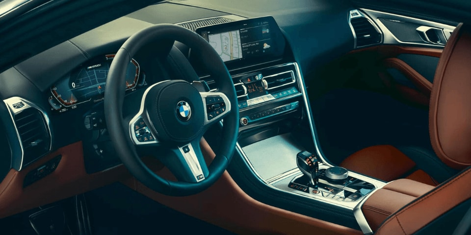 2019 BMW 8 Series interior