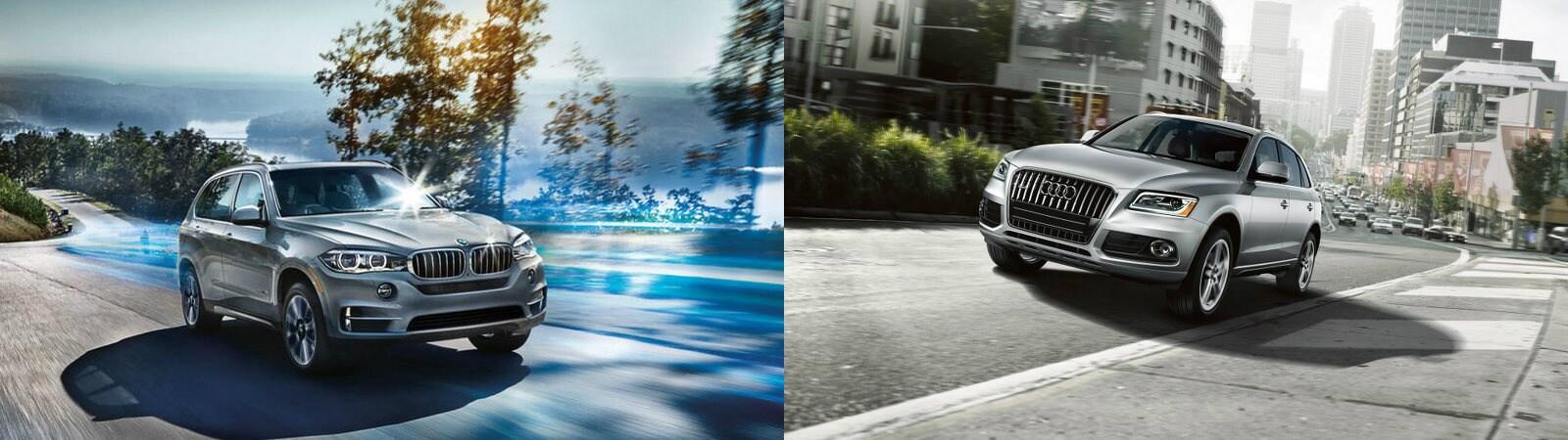 BMW X5 vs Audi Q5