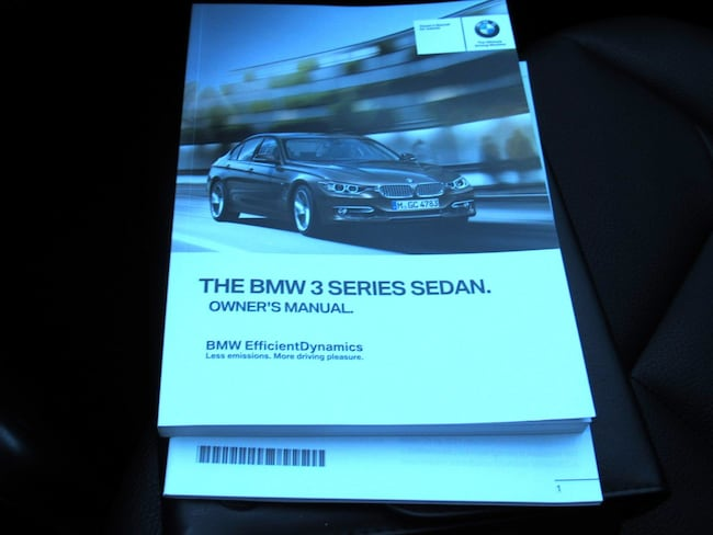 2015 bmw 328i owners manual