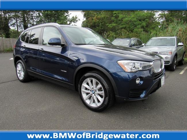 Certified Pre-Owned 2016 BMW X3 xDrive28i SAV in Bridgewater NJ