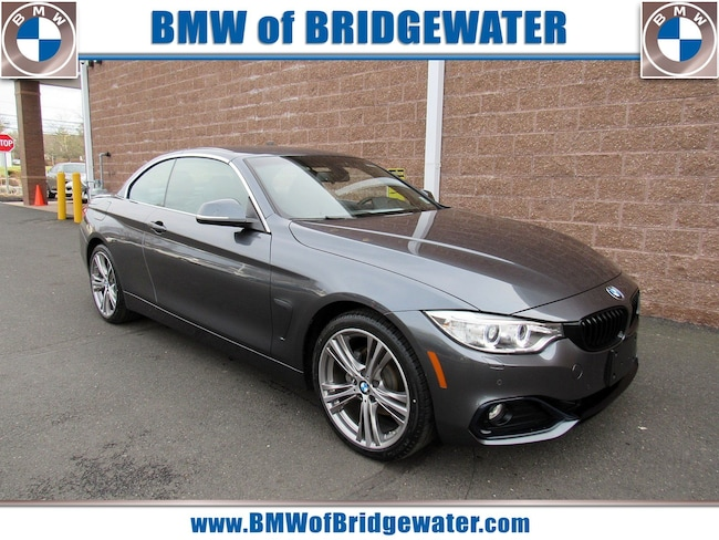 Certified Pre-Owned 2017 BMW 430i xDrive SULEV Convertible in Bridgewater NJ