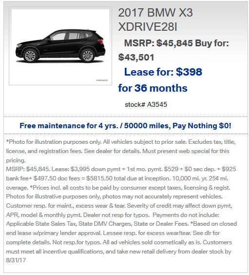 BMW Lease Special Offers At BMW Of Bridgewater In