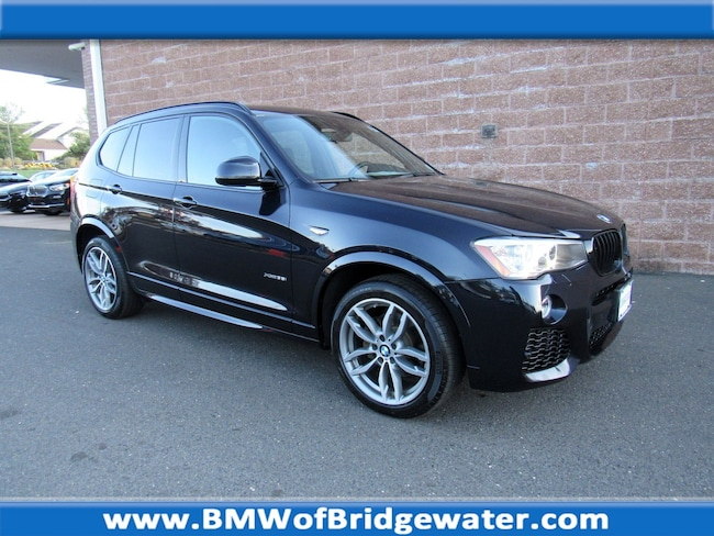 Certified Pre-Owned 2017 BMW X3 xDrive35i SAV in Bridgewater NJ