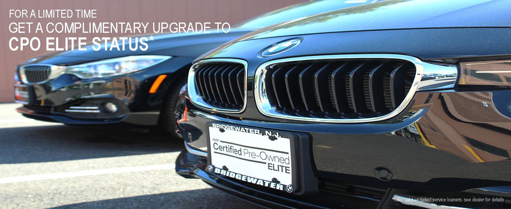 Bmw Cpo Warranty >> Bmw Certified Pre Owned Elite Warranty At Bmw Of Bridgewater