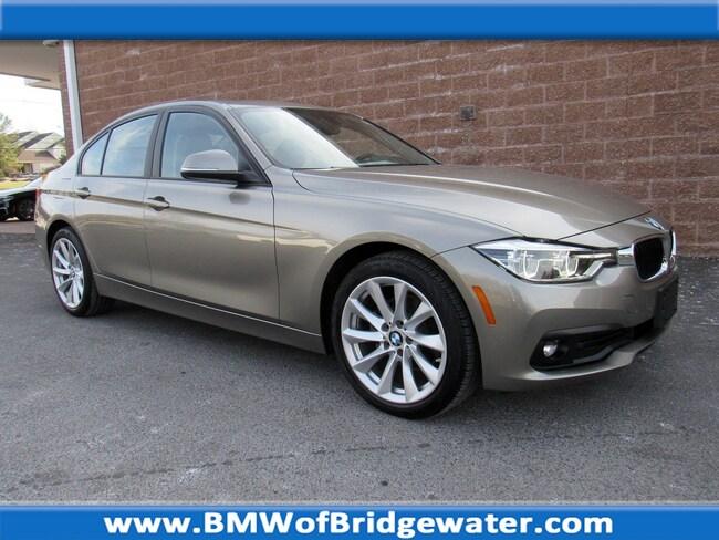 Certified Pre-Owned 2018 BMW 320i xDrive Sedan in Bridgewater NJ