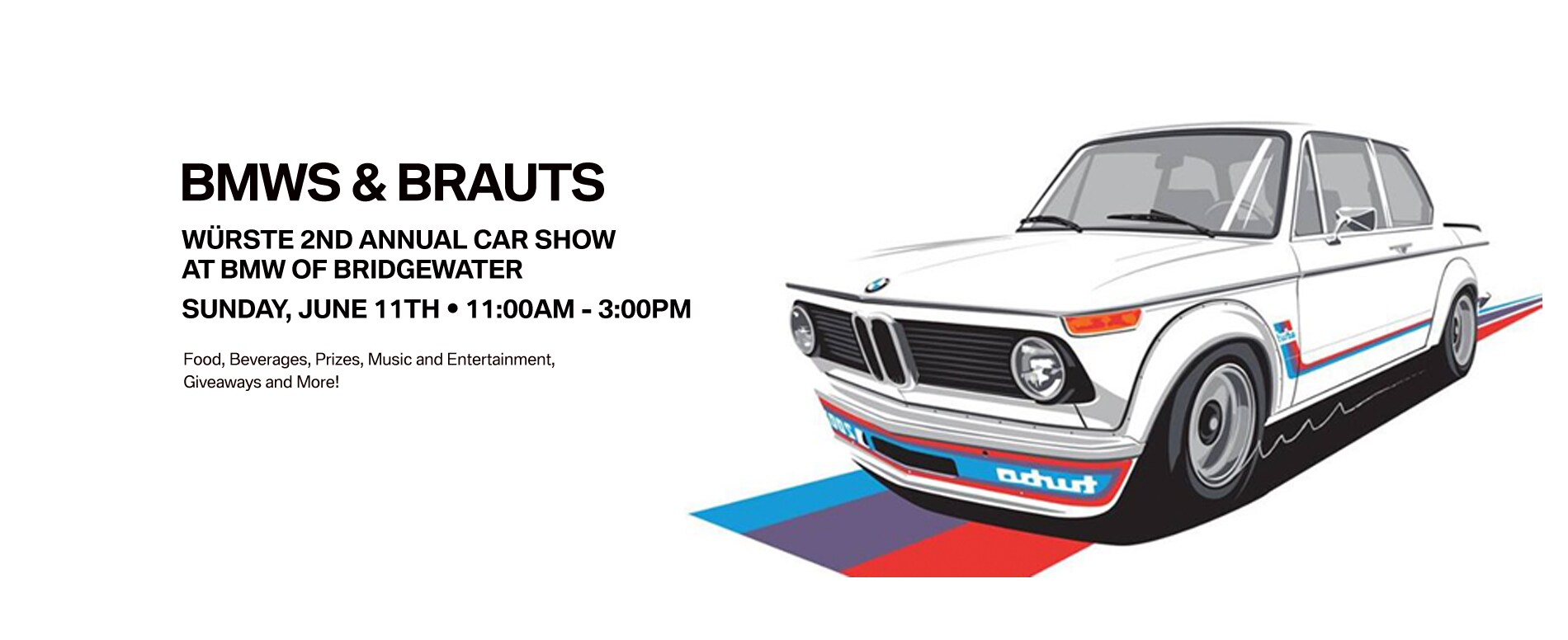 Bimmers Brauts Würste Annual Car Show On In Bridgewater NJ - Car show giveaways