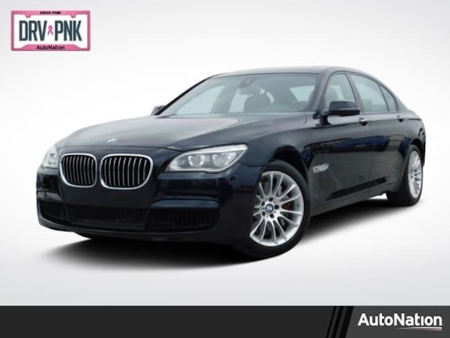 2013 BMW 750Li Sedan