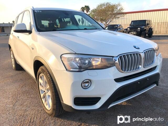 2017 BMW X3 xDrive28i SAV 5UXWX9C37H0T25268 H0T25268P