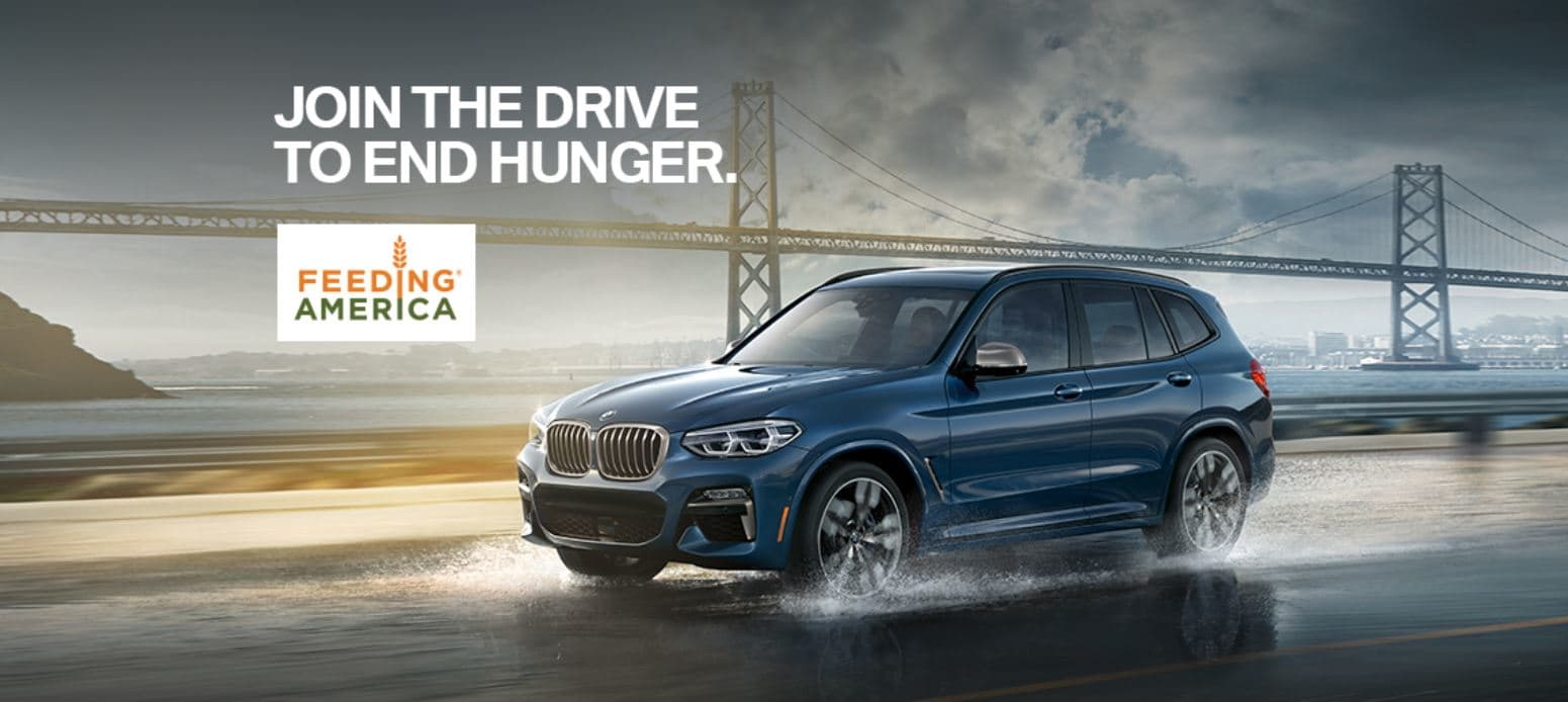 bmw drive to end hunger bmw of corpus christi. Black Bedroom Furniture Sets. Home Design Ideas