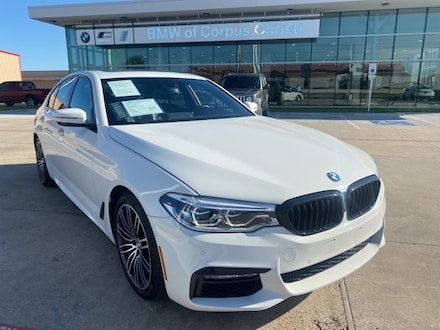 2018 BMW 5 Series 530i xDrive M SPORT SUSPENSION Sedan WBAJA7C57JWA73480 JWA73480P