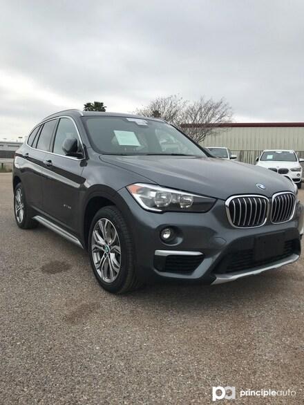 2017 BMW X1 sDrive28i SAV WBXHU7C35HP925305 HP925305P