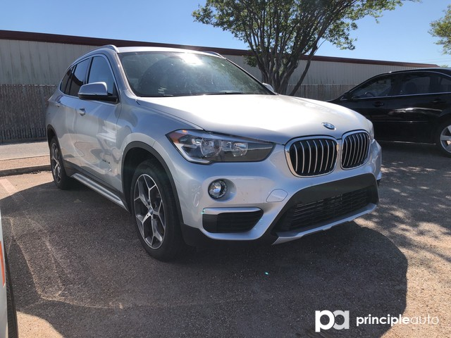 2018 BMW X1 sDrive28i SAV WBXHU7C34J5H45527 J5H45527T