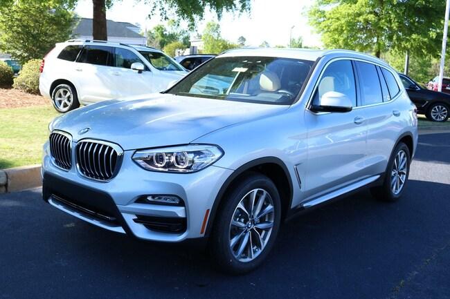 New 2019 BMW X3 sDrive30i SAV in Columbus, GA