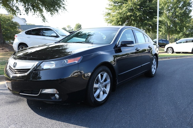 2012 Acura TL TL with Technology Package Sedan