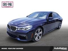 2018 BMW 750i Sedan