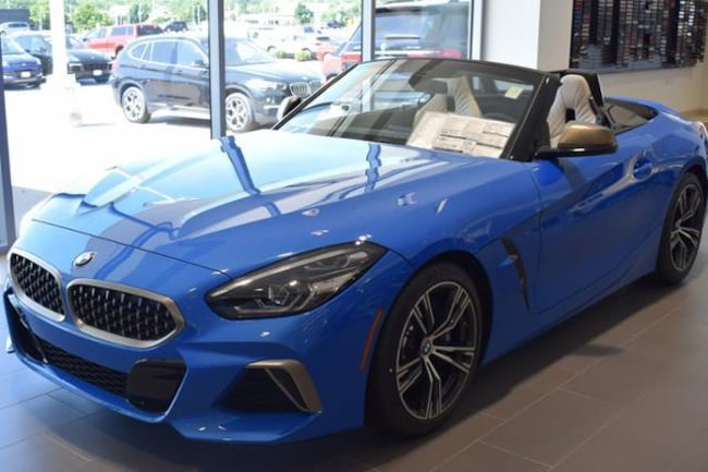New 2020 Bmw Z4 M40i Convertible Misano Blue For Sale In