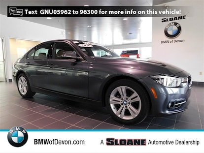 Used 2016 BMW 3 Series For Sale at Sloane Automotive Group