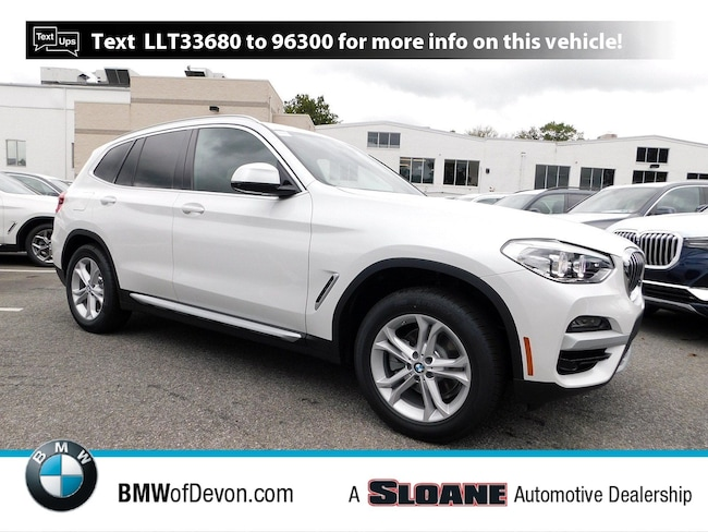 New 2020 BMW X3 xDrive30i SUV Devon