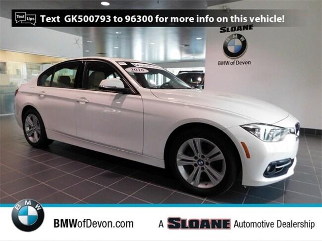 Used 2016 BMW 3 Series 328i xDrive Sedan Devon