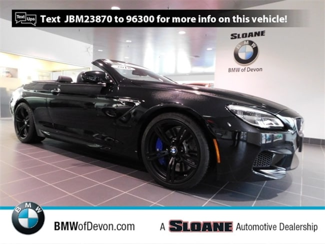 Used 2018 BMW M6 Base Convertible Devon