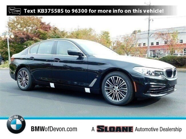 New 2019 BMW 5 Series 530e xDrive iPerformance Sedan Devon