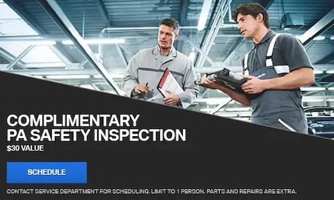 Complimentary PA Safety Inspection