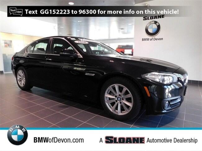 Used 2016 BMW 5 Series 528i xDrive Sedan Devon