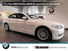 2013 BMW 5 Series 535i xDrive Sedan in [Company City]