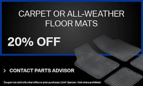 Carpet Or All-Weather Floor Mats
