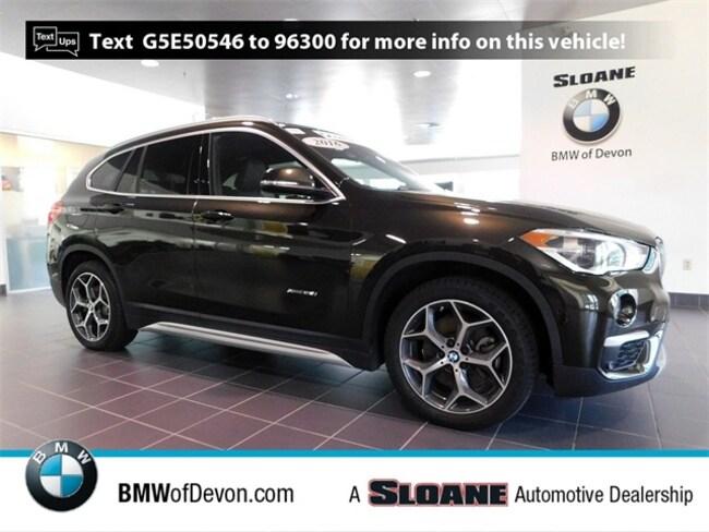 Used 2016 BMW X1 xDrive28i SUV Devon