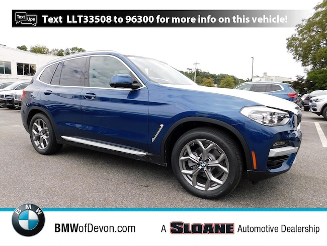 New 2020 BMW X3 xDrive30i SAV Devon