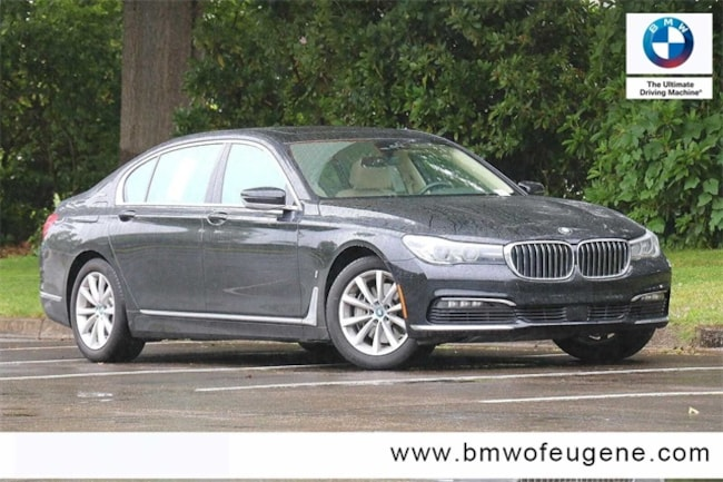 2018 BMW 7 Series 740e xDrive iPerformance Sedan