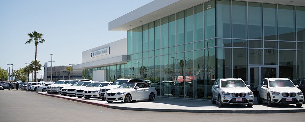 Exterior view of BMW of Fremont serving Hayward