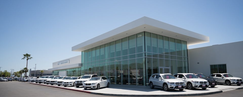 Outside view of BMW of Fremont