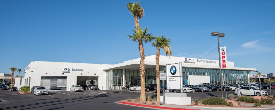 Outside view of BMW of Henderson