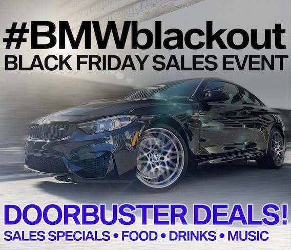 Bmwblackout Black Friday Sales Event Bmw Of Maui