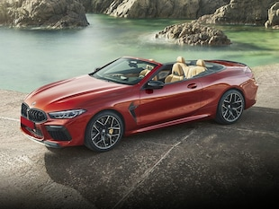 2022 BMW M8 Competition Convertible WBSDZ0C0XNCG90506