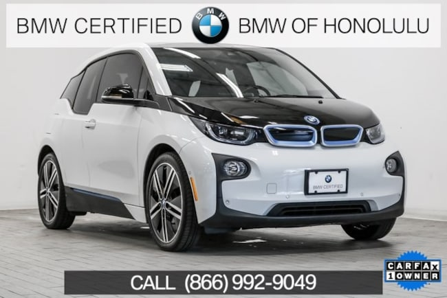Certified 2017 BMW i3 Hatchback for sale at BMW of Honolulu