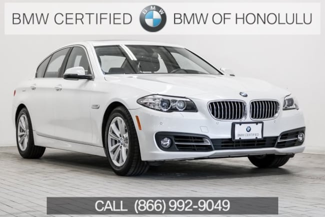 Certified 2016 BMW 528i Sedan for sale at BMW of Honolulu