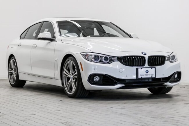 Certified 2016 BMW 428i w/SULEV Gran Coupe for sale at BMW of Honolulu