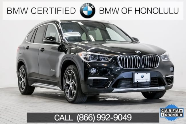 Certified 2016 BMW X1 xDrive28i SUV for sale at BMW of Honolulu