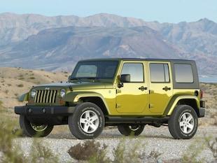 2007 Jeep Wrangler Unlimited X SUV