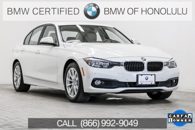 Certified 2016 BMW 320i Sedan for sale at BMW of Honolulu