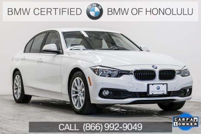 Certified 2016 BMW 320i Sedan for sale at BMW of Honolulu